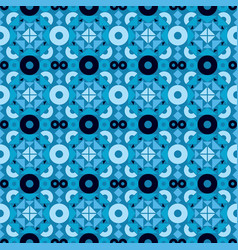 Abstract geometric seamless pattern ornament vector