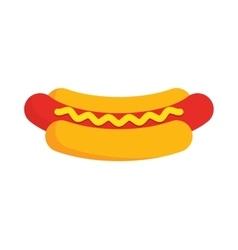 Hot Dog Cartoon vector image vector image