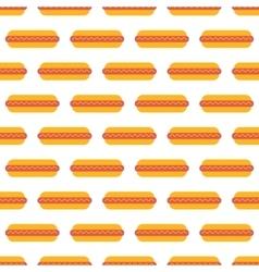 Hot dog pattern seamless vector