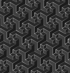 Isometric background vector