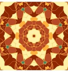 Seamless pattern mandala like vintage decorative vector