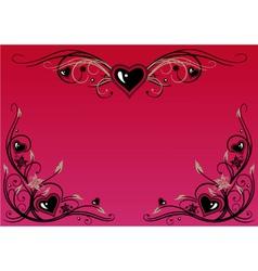 Valentine wedding love vector image vector image