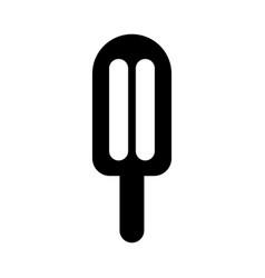 Delicious frozen palette icon vector