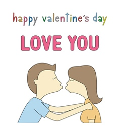 Happy valentine s day card14 vector