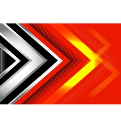 Abstract background black red vector