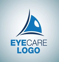 EYE CARE LOGO 4 vector image vector image