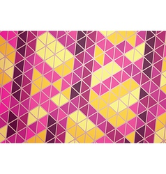 Mosaic abstraction vector image