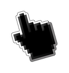 Hand pointer computer vector