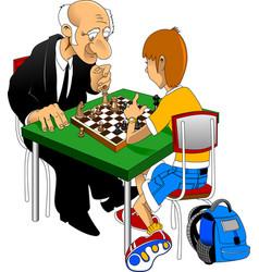 Chess championship vector