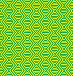 green and yellow retro seventies inspired wallpape vector image vector image