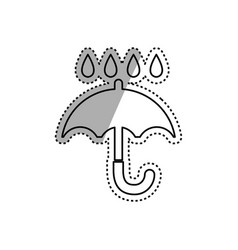 keep dry delivery vector image