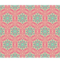 vintage pattern wallpaper seamless background vector image vector image
