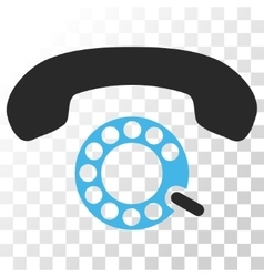 Pulse dialing icon vector