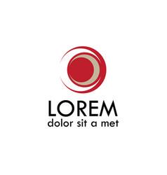 eye symbol logo vector image