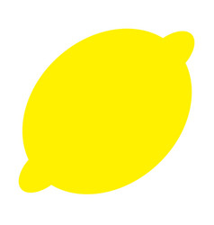 Lemon icon healthy food lifestylefresh fruit vector