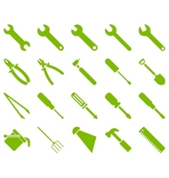 Equipment and tools icons vector