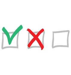 vote icons vector image