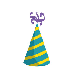 Birthday hat isolated vector