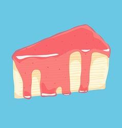 Crepe cake vector