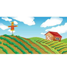 Farm house vector