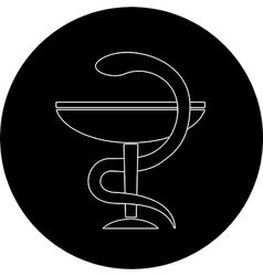 Pharma symbol vector