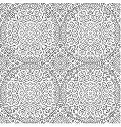 Seamless background ethnic doodle motives zentagl vector