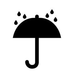 Shipping umbrella symbol vector image