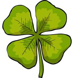 Four leaf clover vector