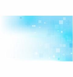 abstract rectangles digital hi tech concept vector image