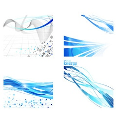 Futuristic backgrounds vector