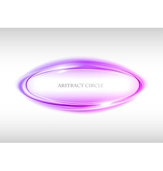 Abstract circle on white purple vector