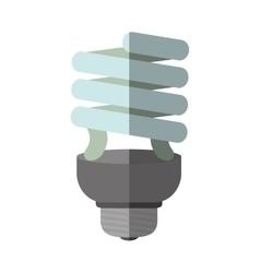 Light bulb icon save energy design vector