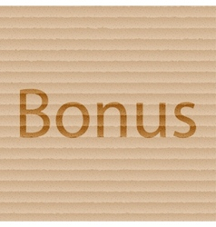 Bonus icon symbol flat modern web design with long vector
