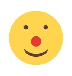 Clown face vector