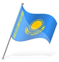 flag of Kazakhstan vector image