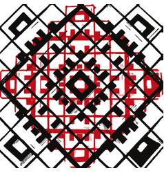 Geometric retangle pattern vector