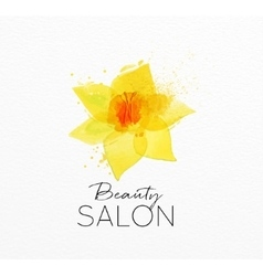 Beauty natural spa flower vector