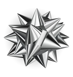 Big shiny bow vector