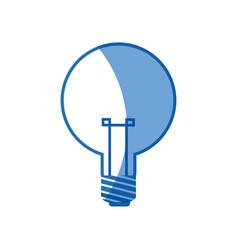 bulb light electricity idea creative image vector image vector image
