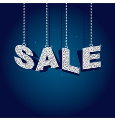 glitter sale tags vector image vector image