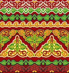 slavic seamless ornament vs vector image