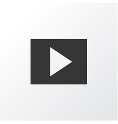 Slideshow icon symbol premium quality isolated vector