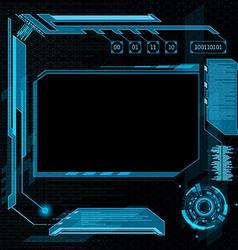 User interface hud vector