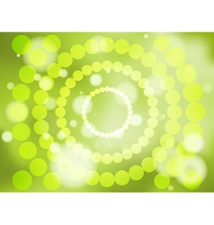 Abstract green soft focus background vector