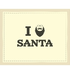 Christmas unique funny sign quote background vector