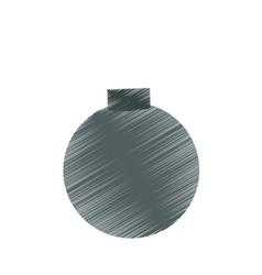 Cartoon bomb icon image vector