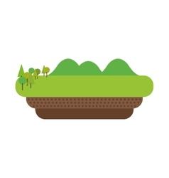 landscape icon Nature design graphic vector image