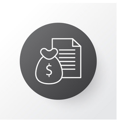 Money revenue icon symbol premium quality vector
