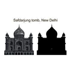 safdarjung tomb vector image vector image