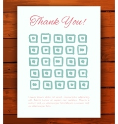 Set of grunge vintage cards vector